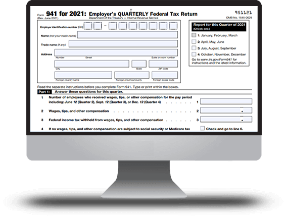 IRS Form 941 for 2018