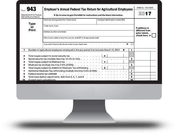 Employer's Quarterly Federal Tax Return Form 941 Online | E-File Now!