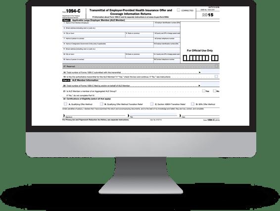 Aca Reporting Solution 1095 B1095 C Online Filing