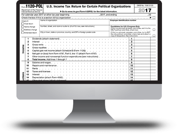 Form 1120-POL (Political Organization)